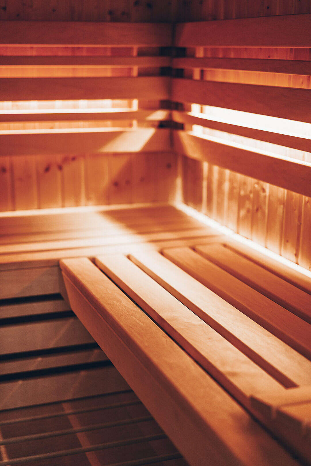 Download Finnish Sauna Vertical FREE Stock Photo