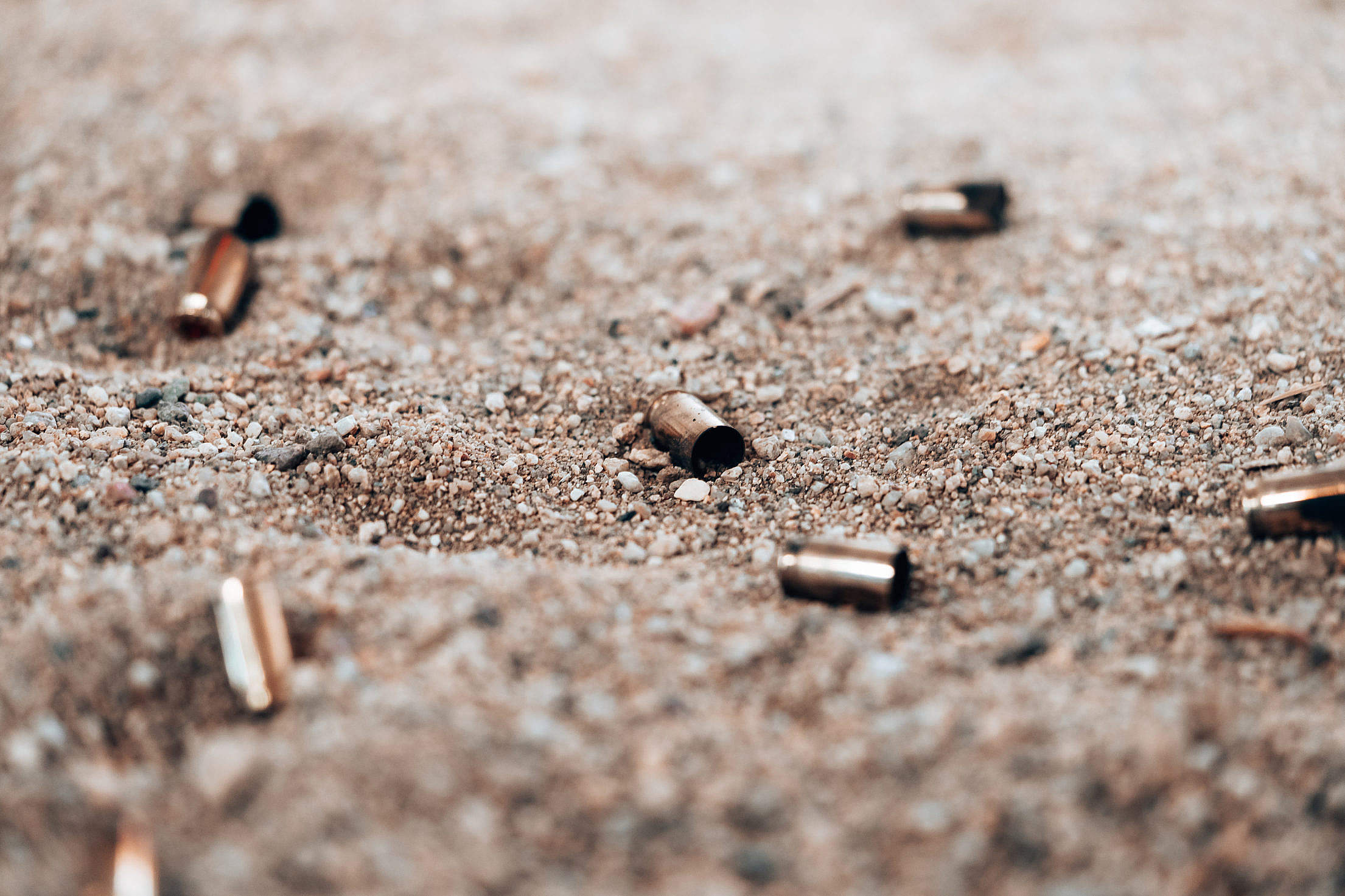 Fired Bullets Free Stock Photo