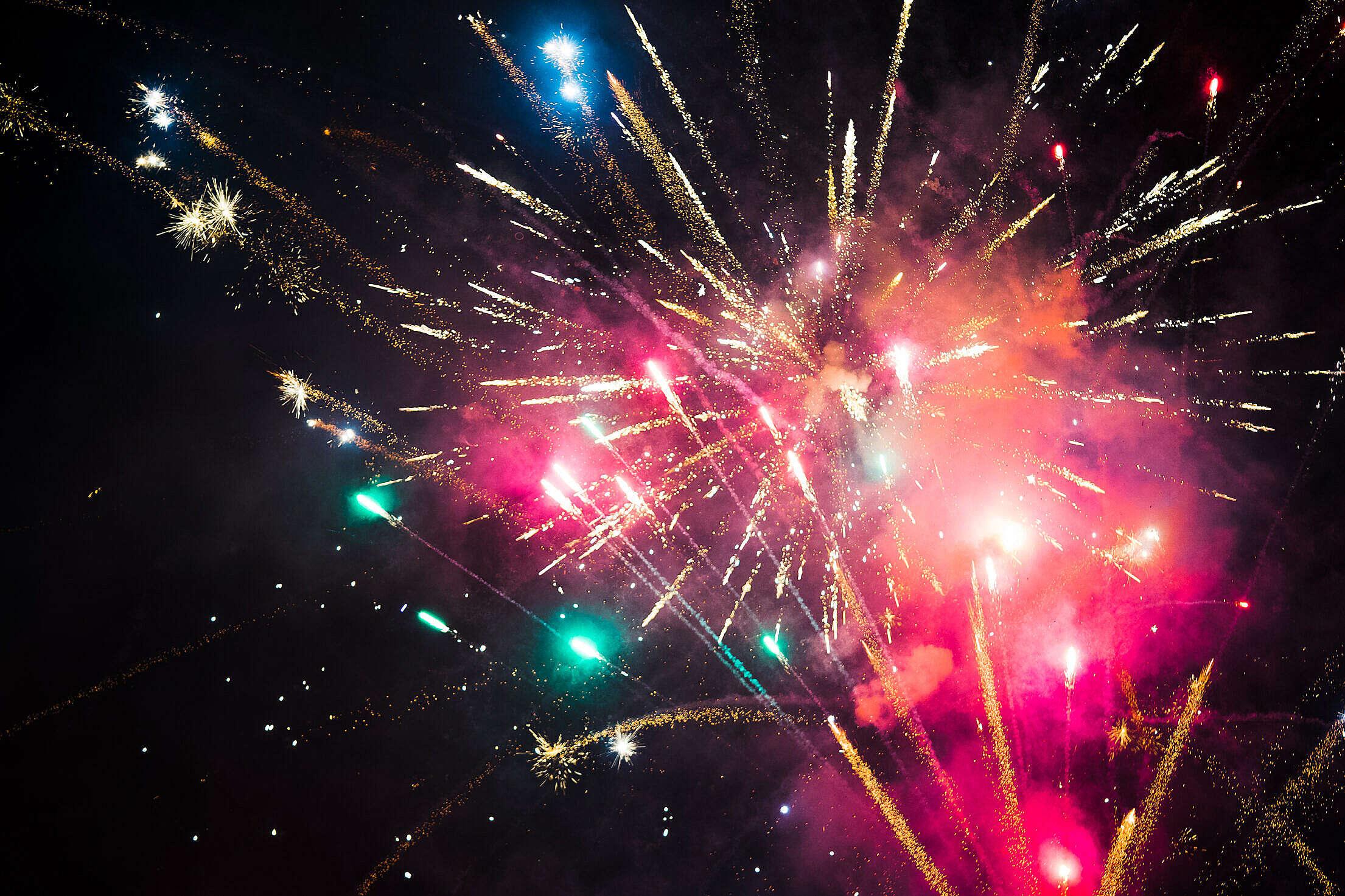 Fireworks Free Stock Photo
