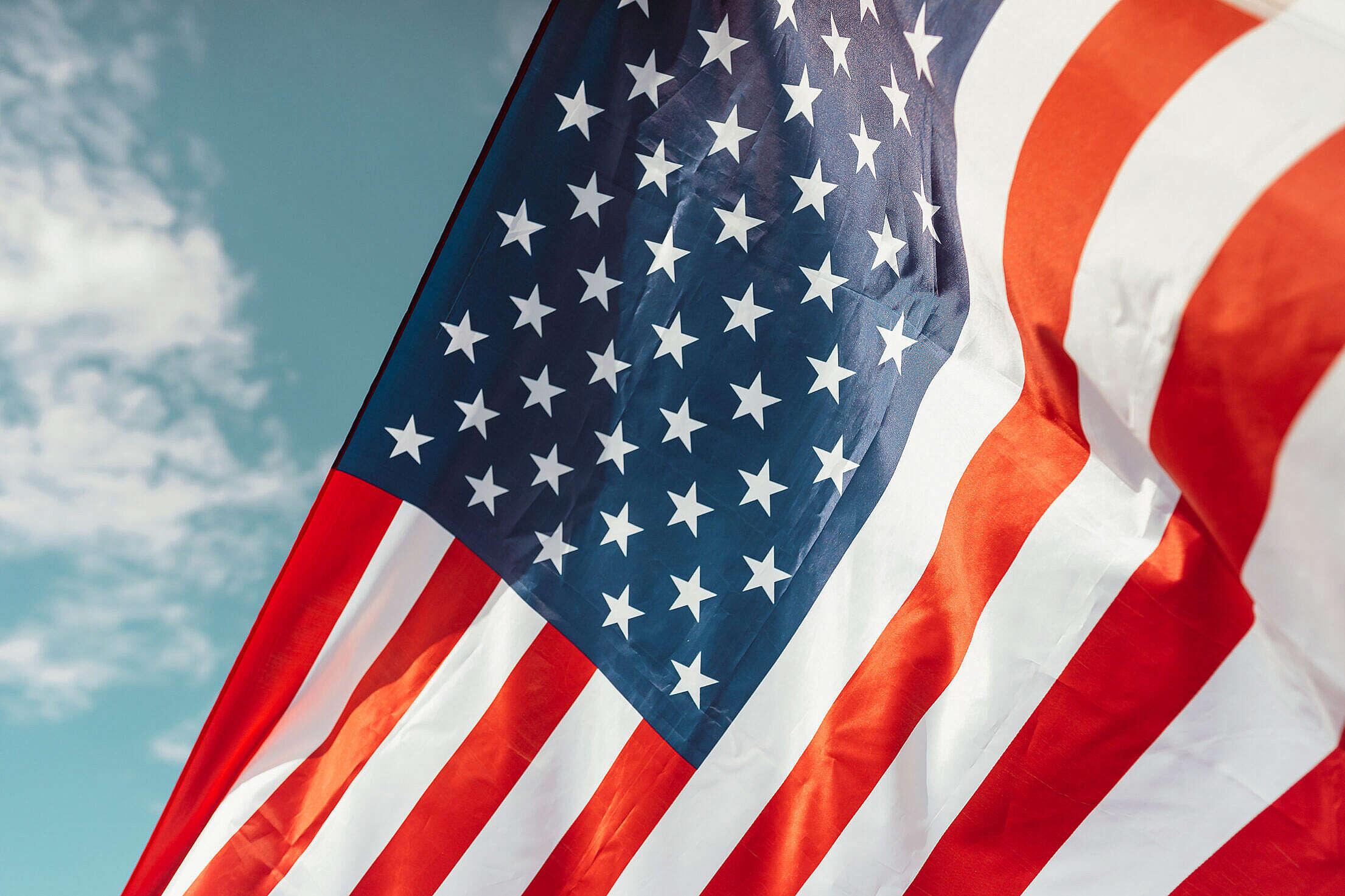 Flag of America Free Stock Photo
