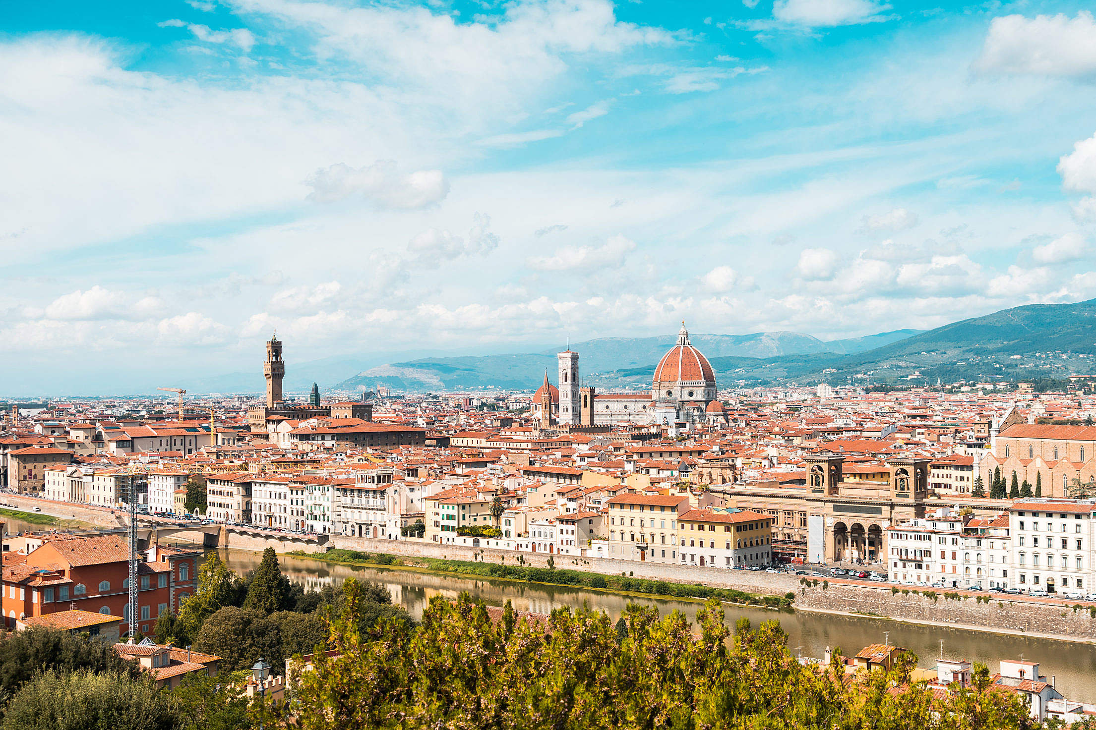 Florence in Tuscany, Italy Free Stock Photo