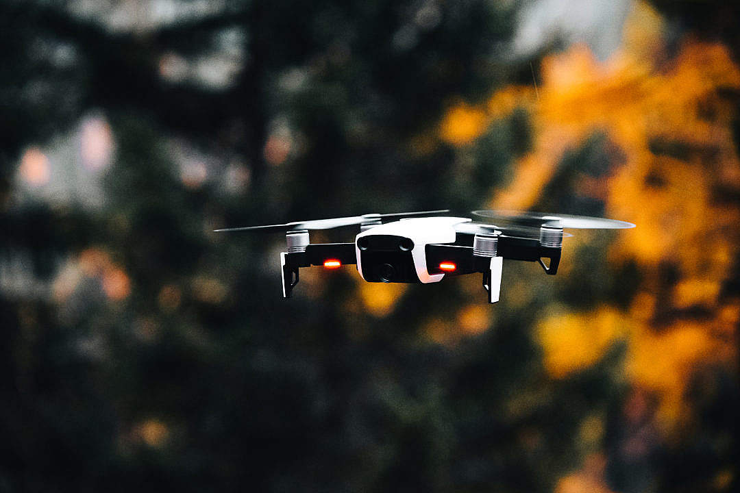 Download Flying Drone Quadcopter FREE Stock Photo