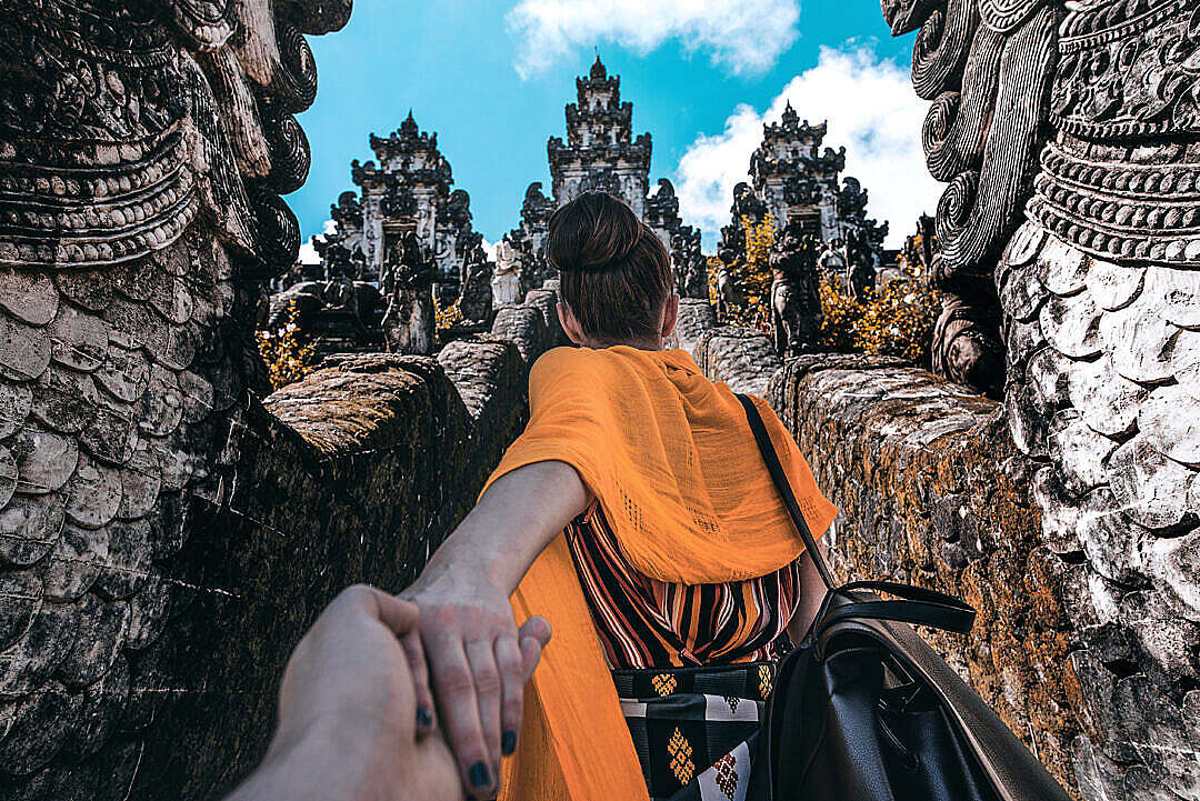 Download Follow Me To The Temple FREE Stock Photo