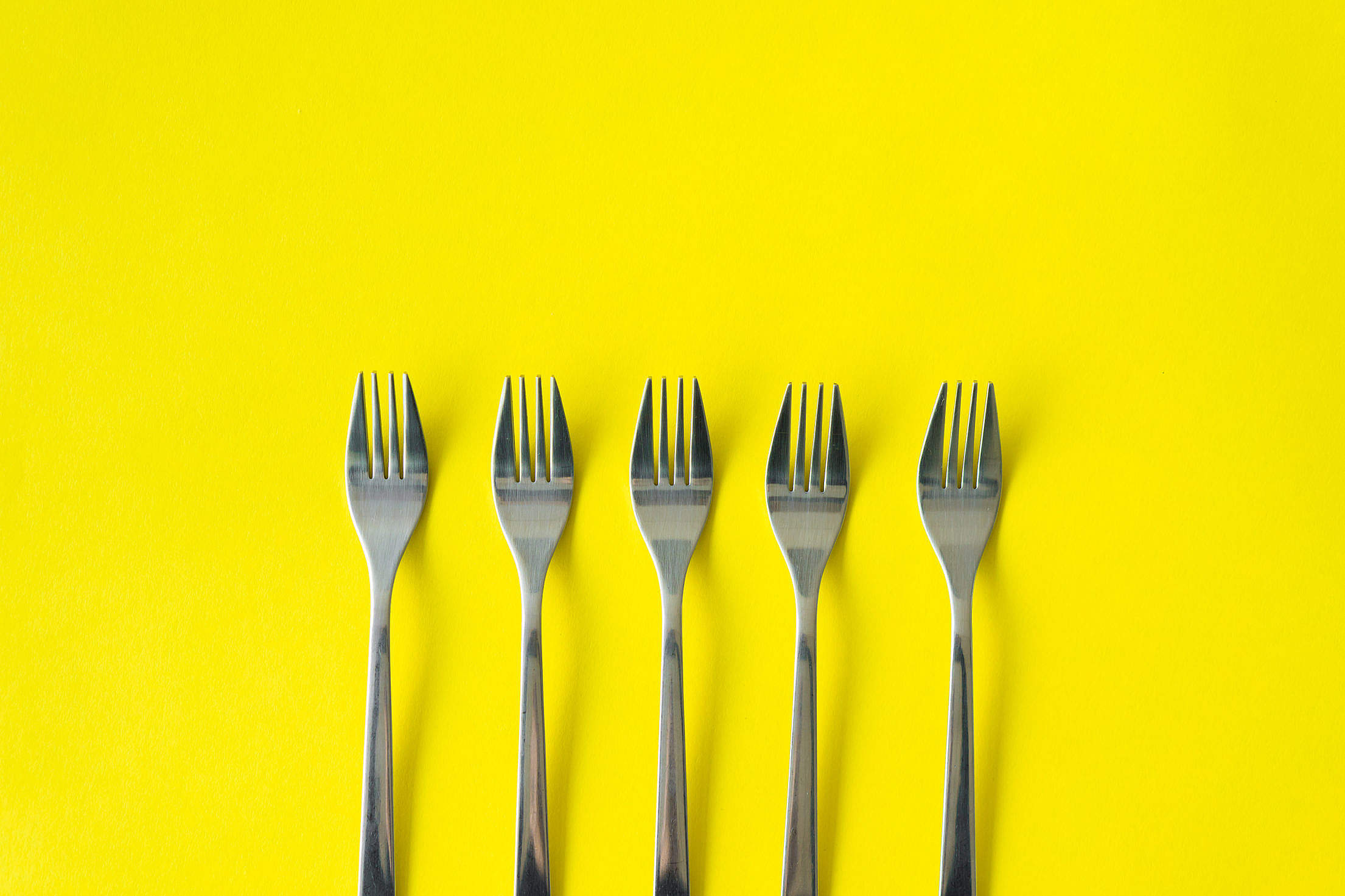 Forks Free Stock Photo