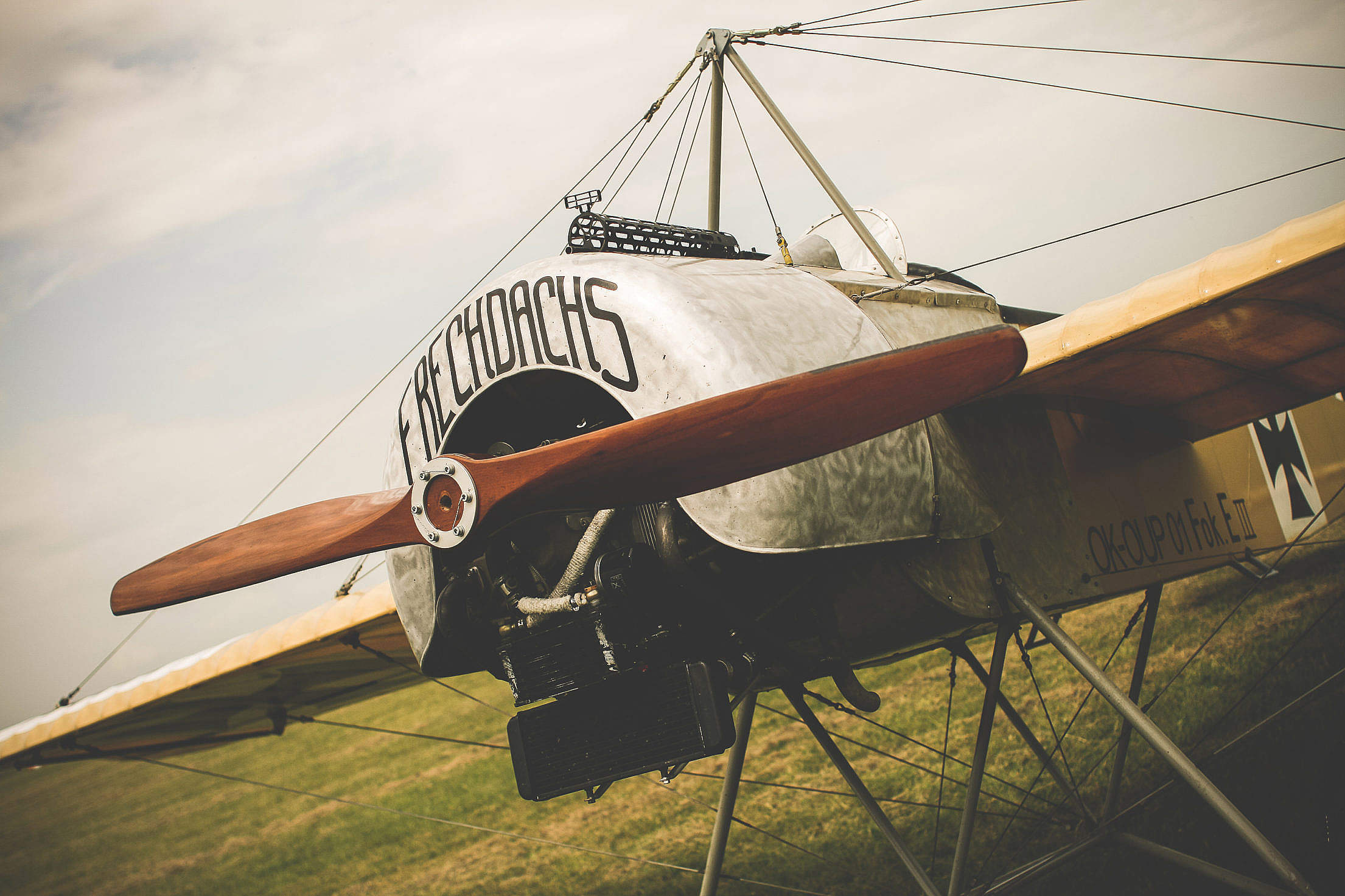 Frechdachs Old Plane Free Stock Photo