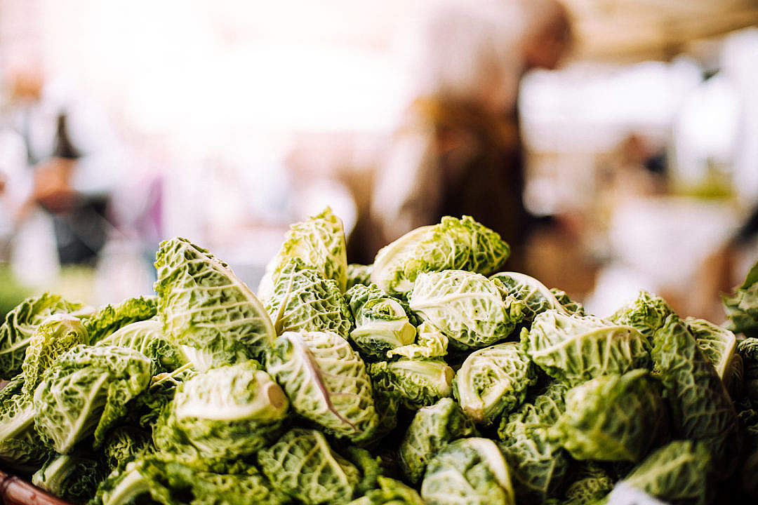 Download Fresh and Healthy Veggies at Farmers Market FREE Stock Photo