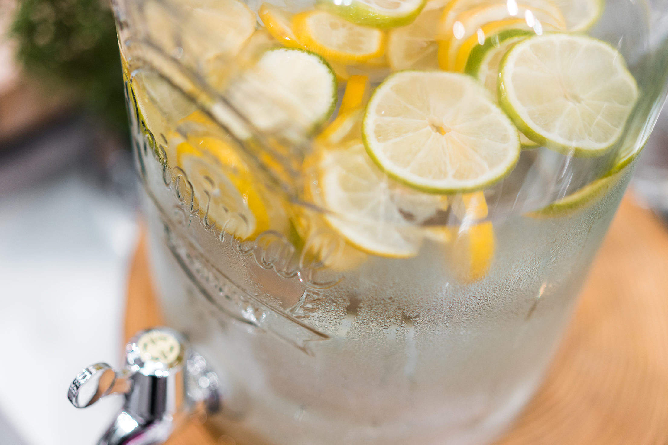 Fresh Lemonade with Lime and Lemon Free Stock Photo