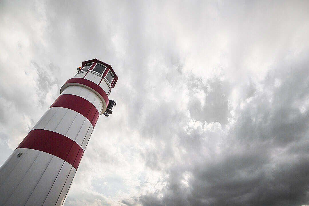 Download From the Bottom of the Lighthouse FREE Stock Photo