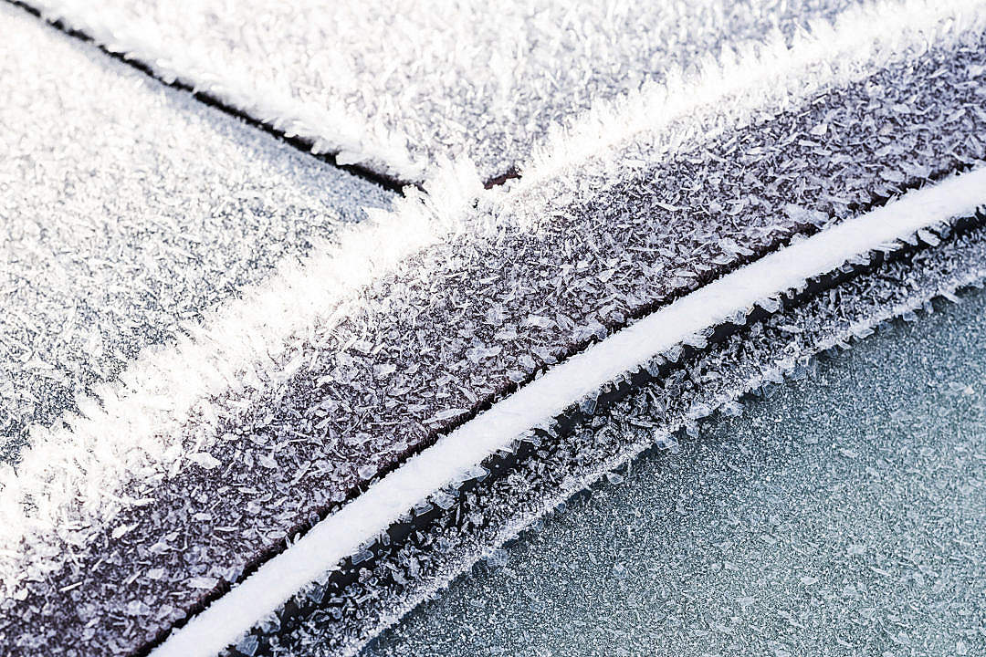 Download Frozen Car Windows and Doors Close Up FREE Stock Photo