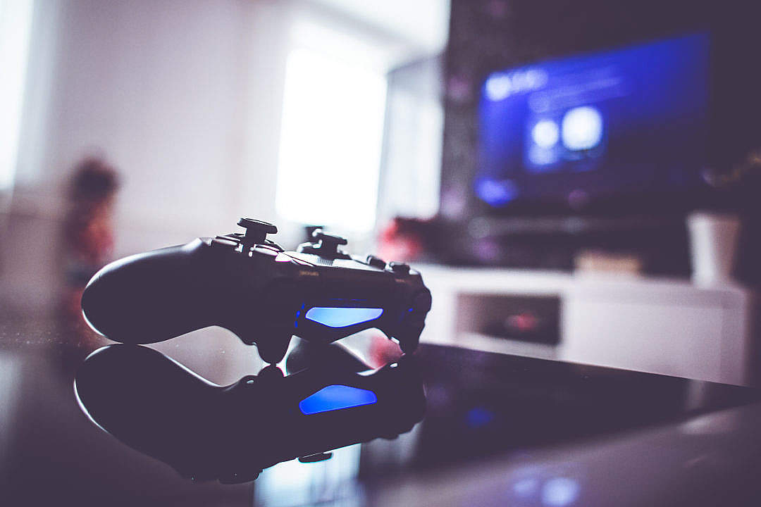 Download Gaming Controller is Ready FREE Stock Photo