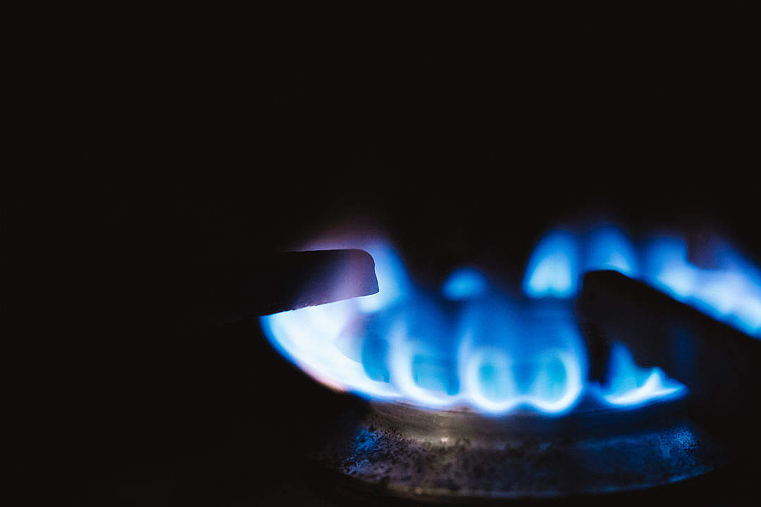 Download Gas Burner FREE Stock Photo