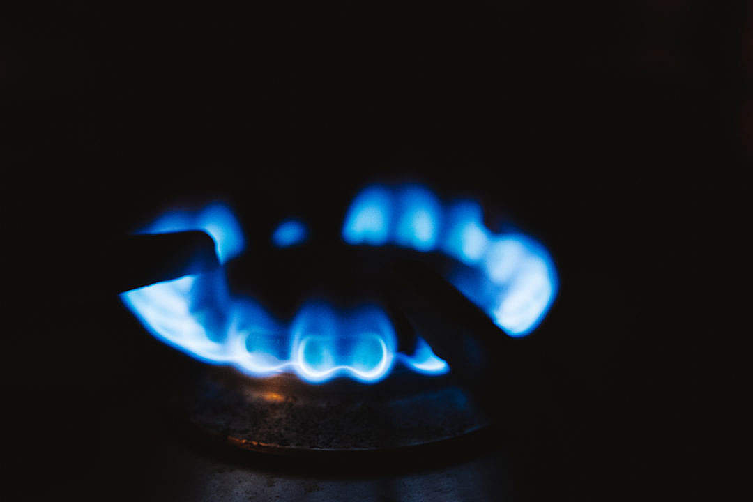 Download Gas Stove Burner FREE Stock Photo