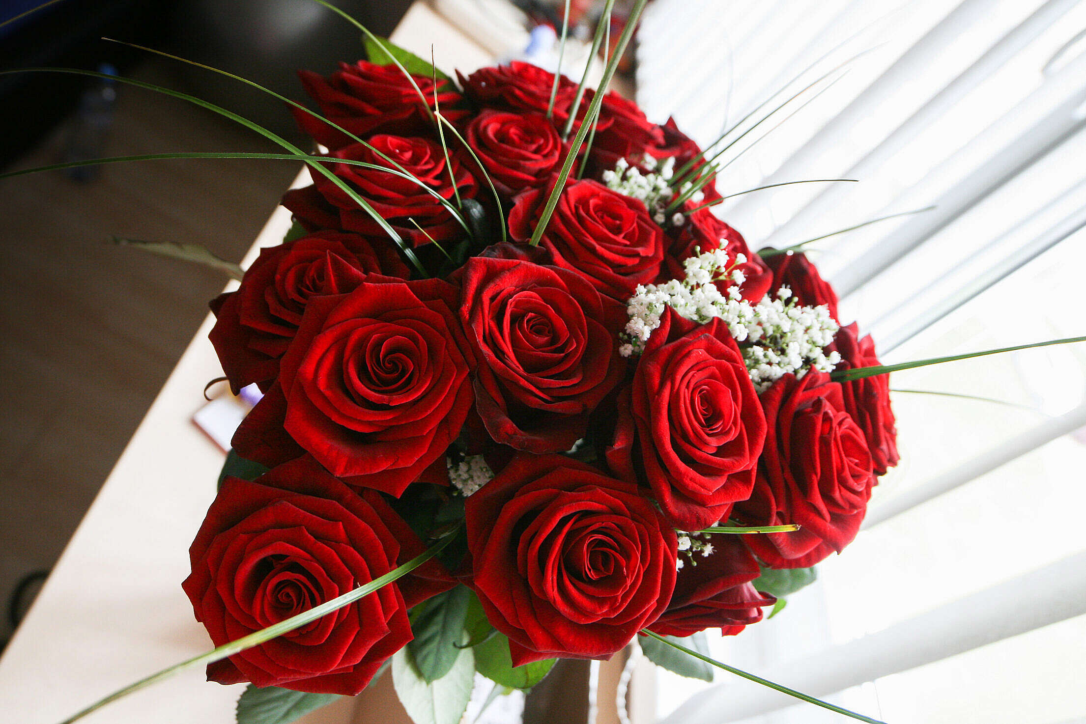 Girls Love Roses Free Stock Photo