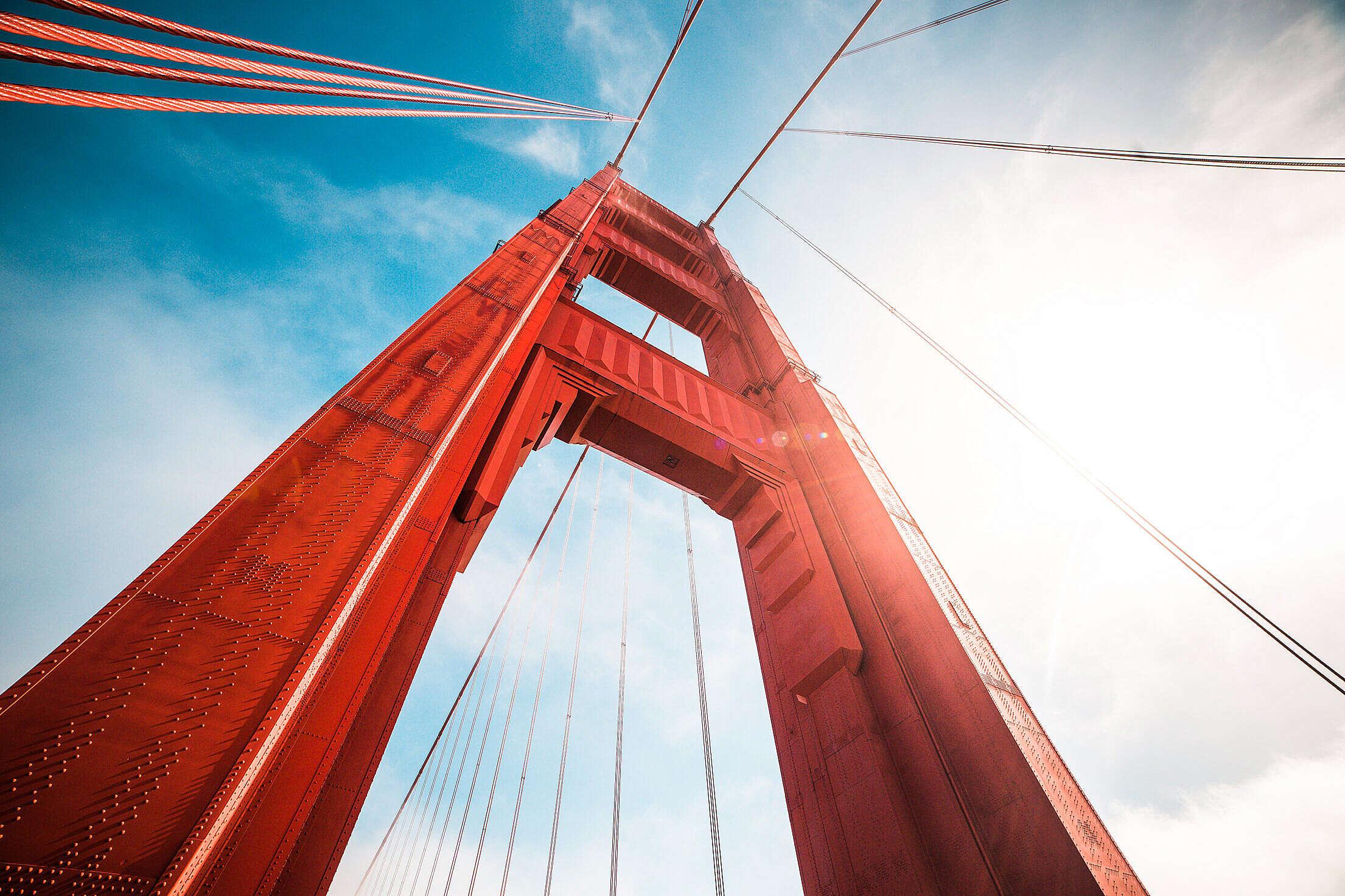 Golden Gate Bridge Free Stock Photo