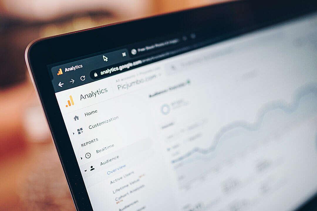 Download Google Analytics Website FREE Stock Photo