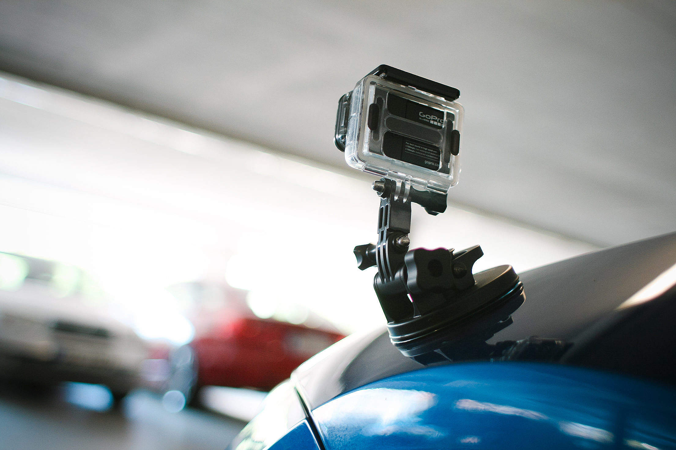 GoPro Suction Cup Mount Free Stock Photo