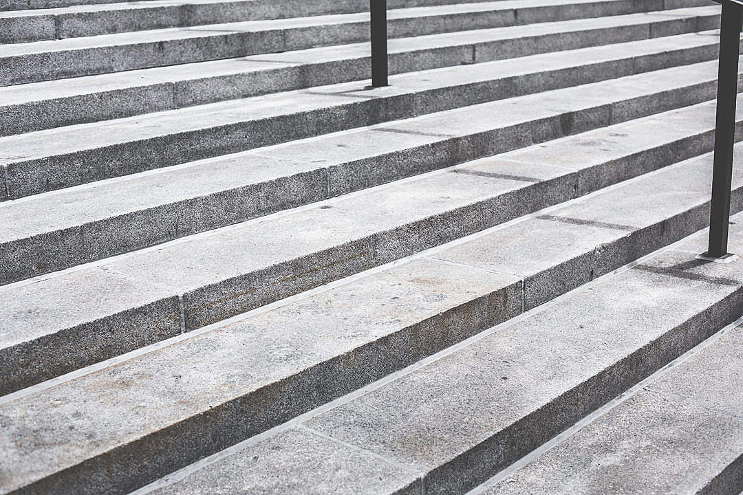 Download Gray Concrete Stairs FREE Stock Photo