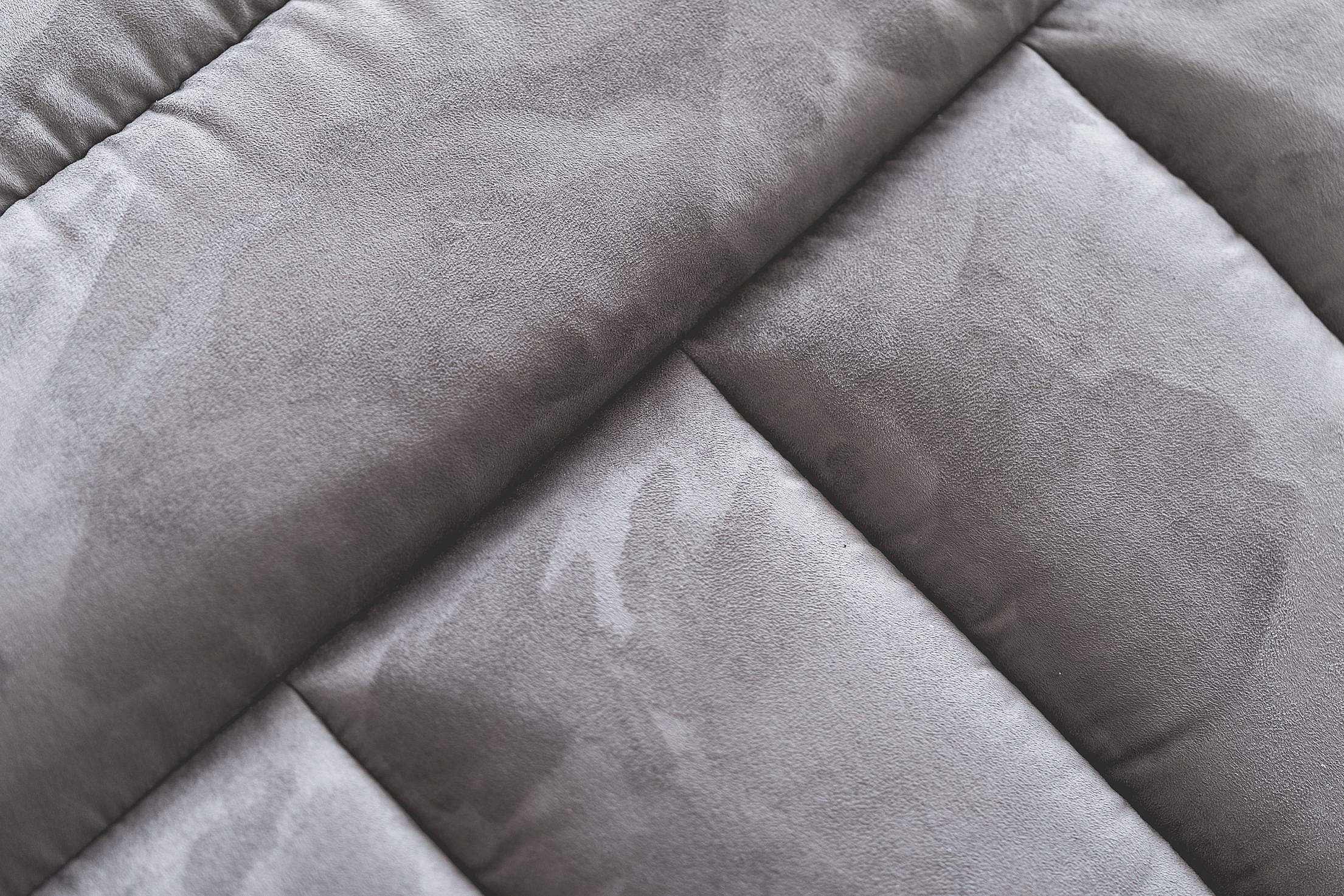 Gray Suede Sofa Abstract Close Up Free Stock Photo