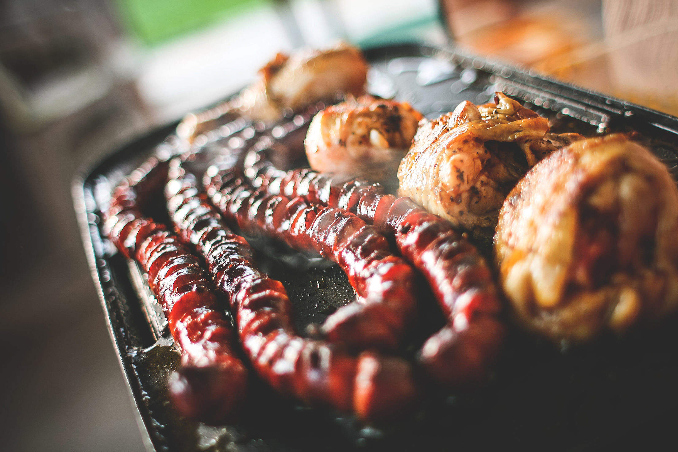 Grill BBQ Party Free Stock Photo