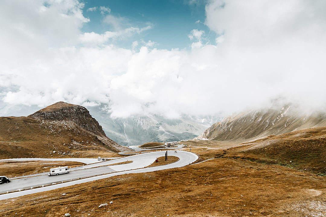 Download Grossglockner High Alpine Road in Austria FREE Stock Photo