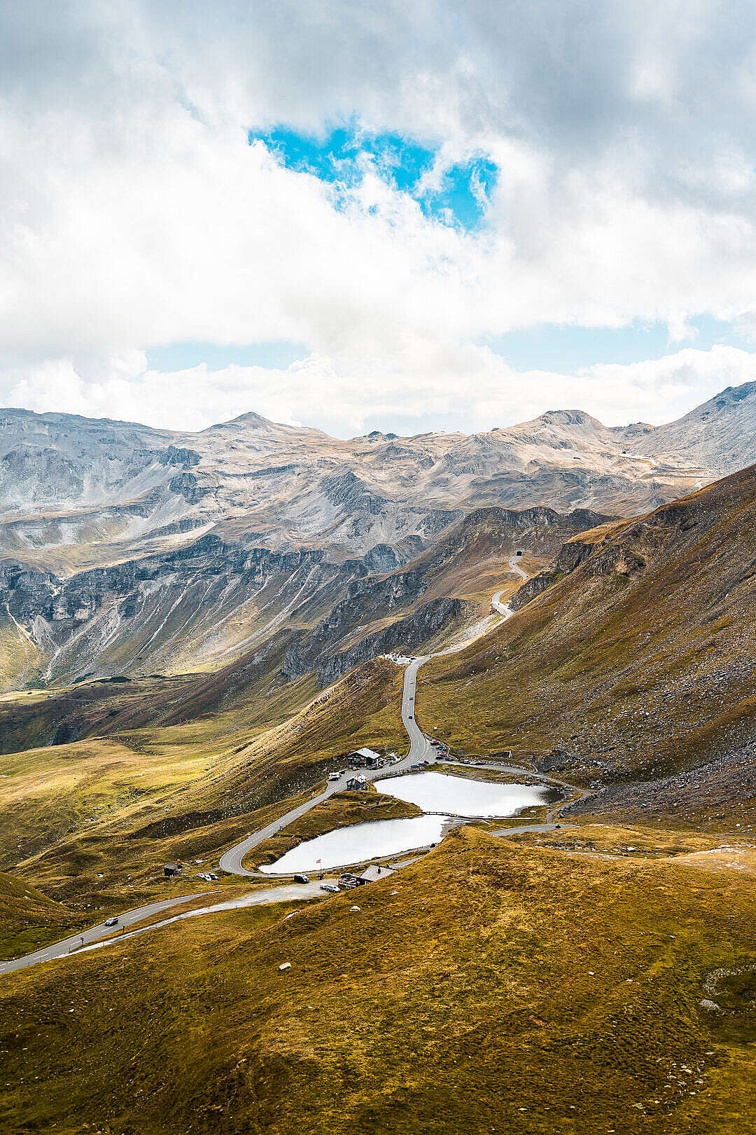 Download Grossglockner Mountain Road in Austria FREE Stock Photo