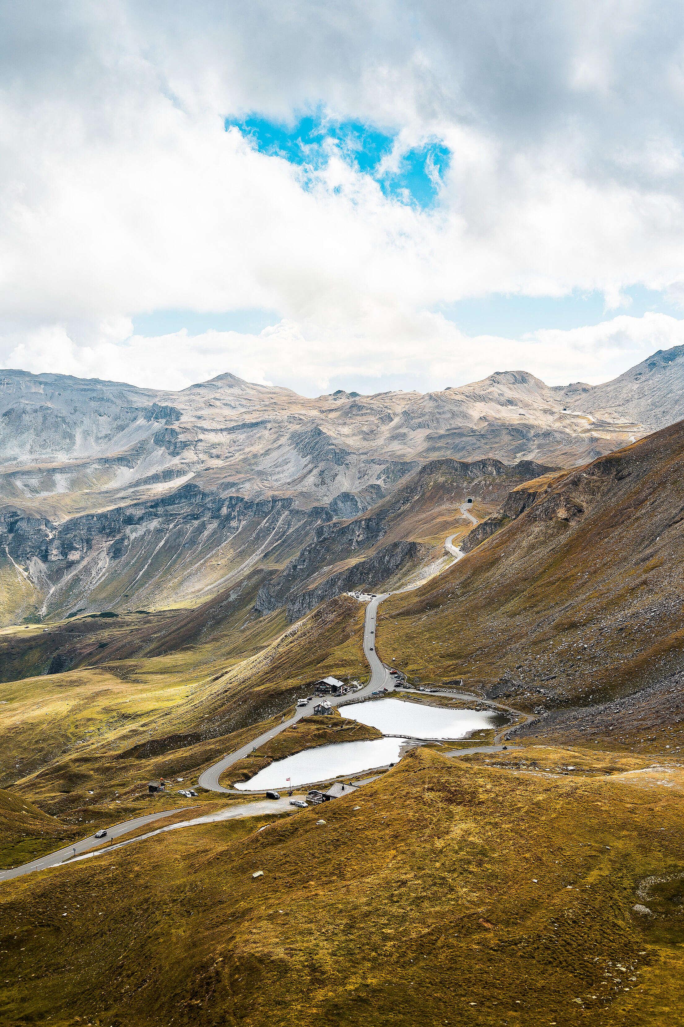 Grossglockner Mountain Road in Austria Free Stock Photo