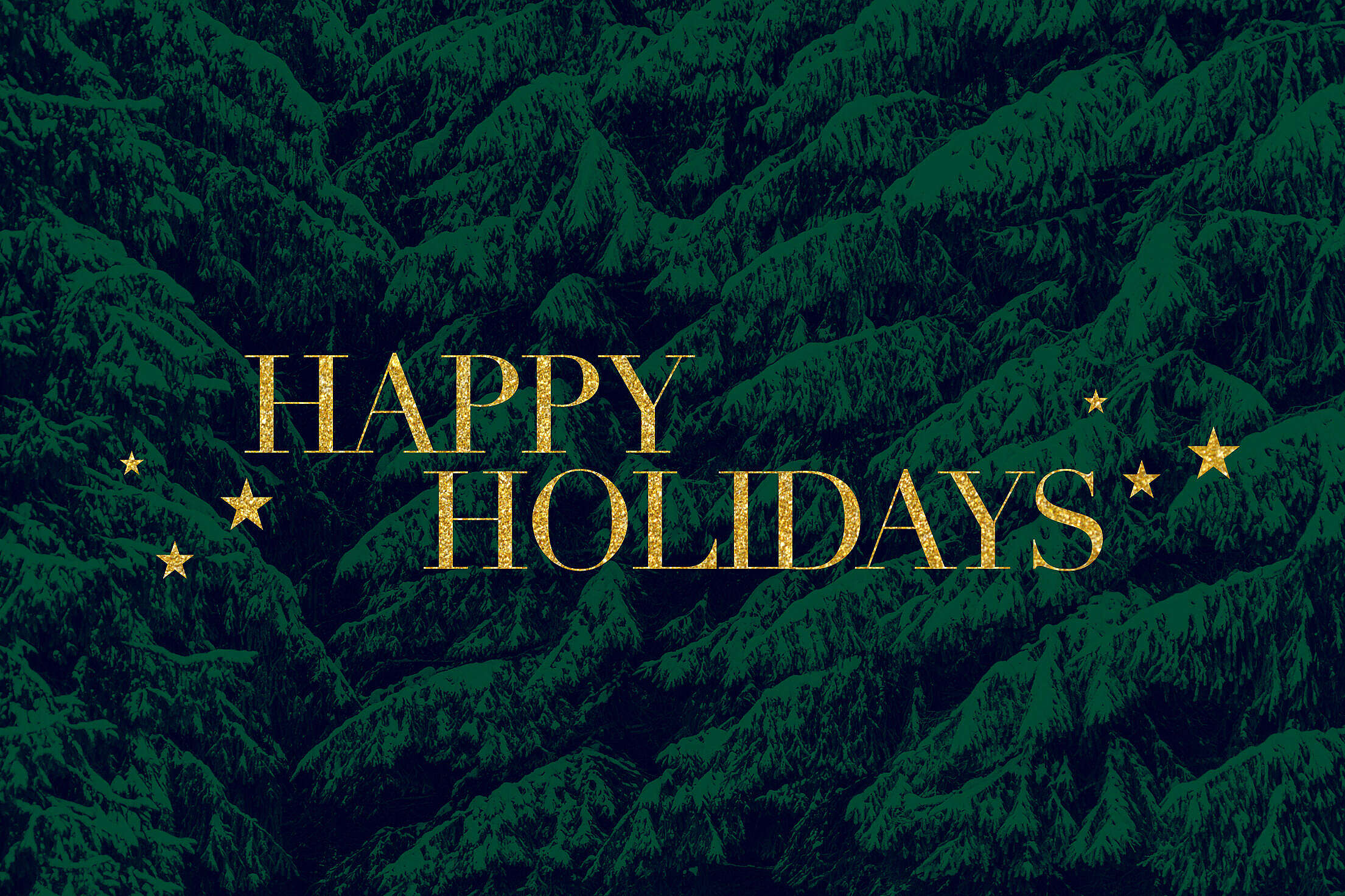 Happy Holidays Card Free Stock Photo