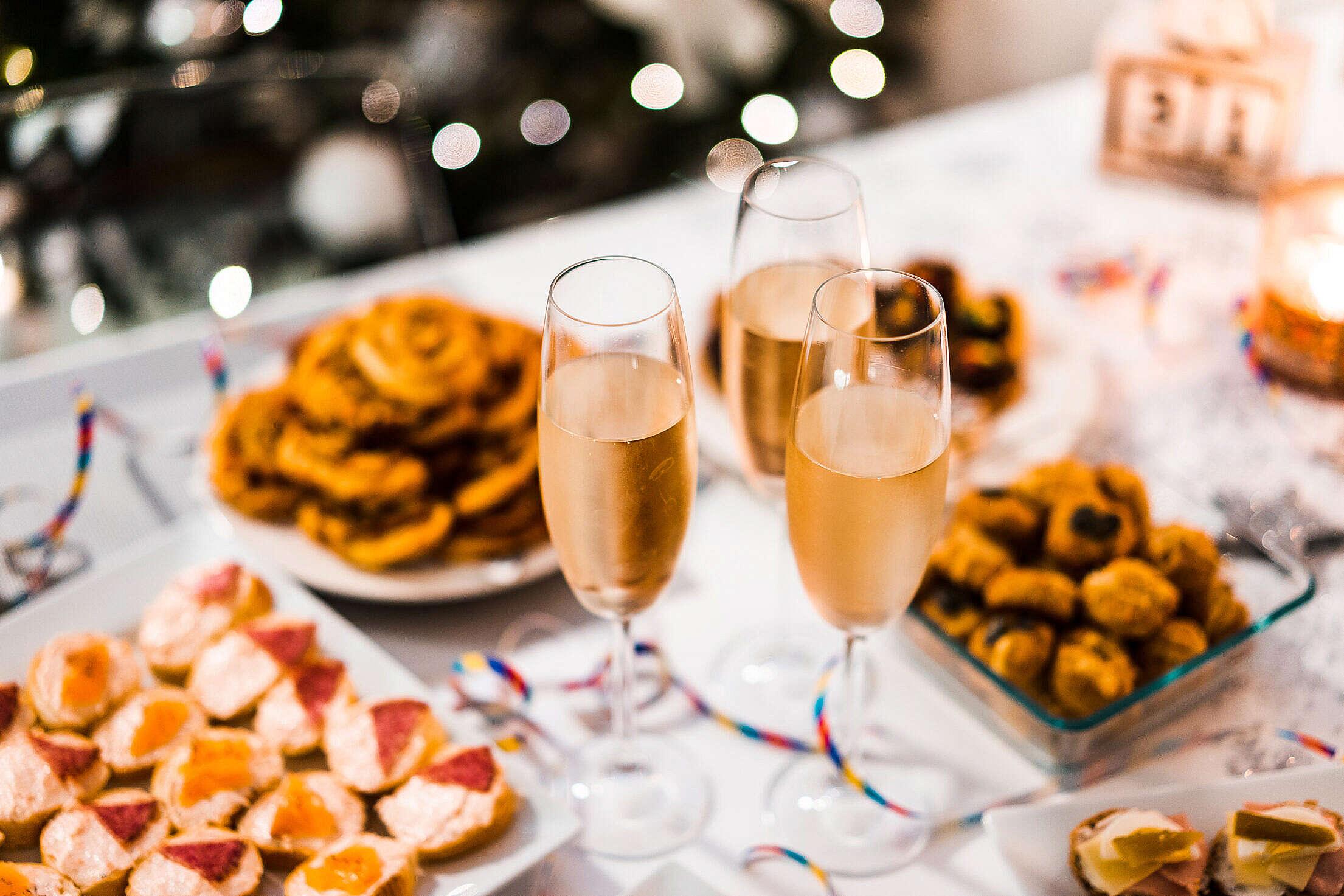 Happy New Year Party Free Stock Photo