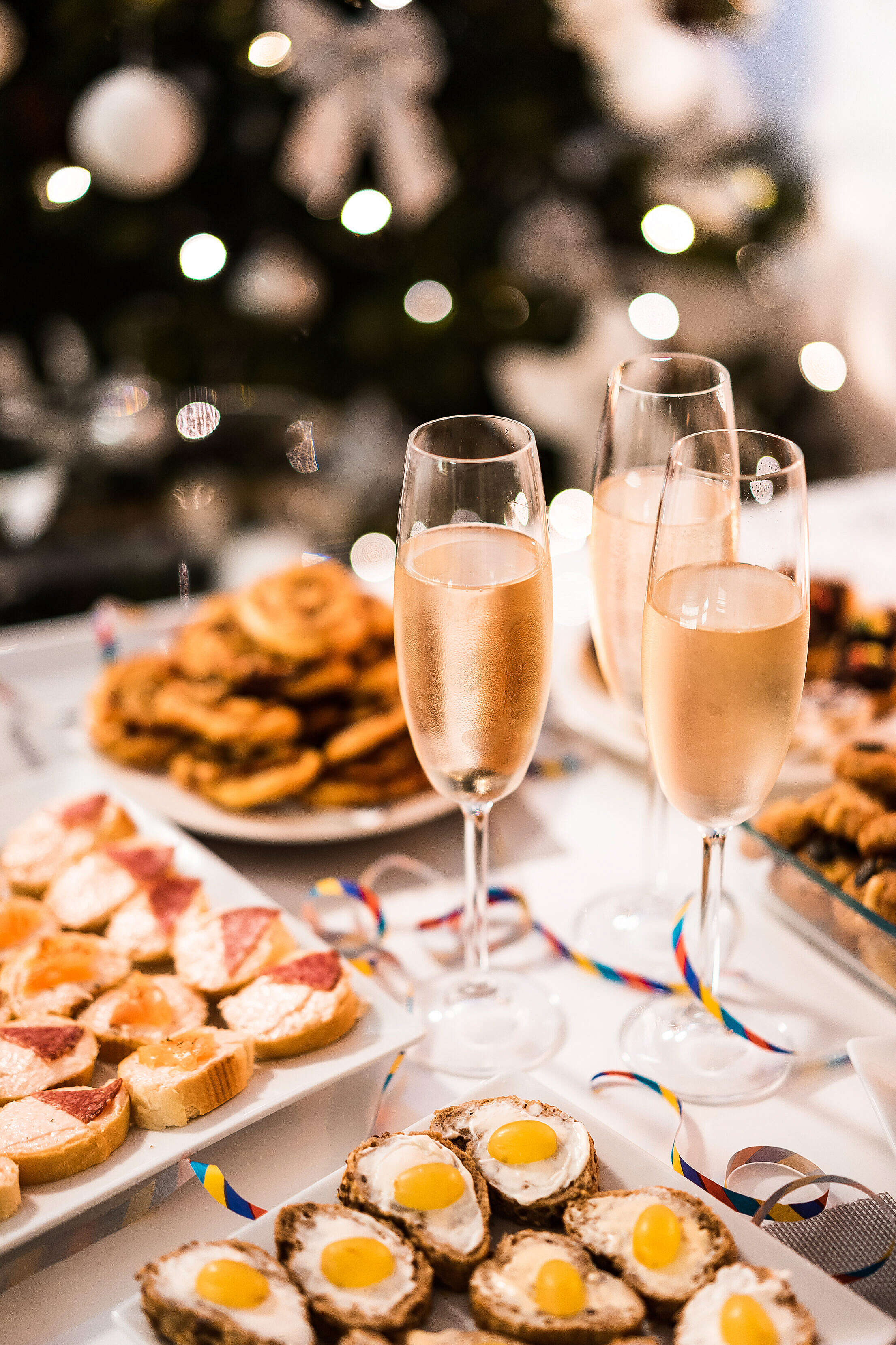 Happy New Year Vertical Free Stock Photo