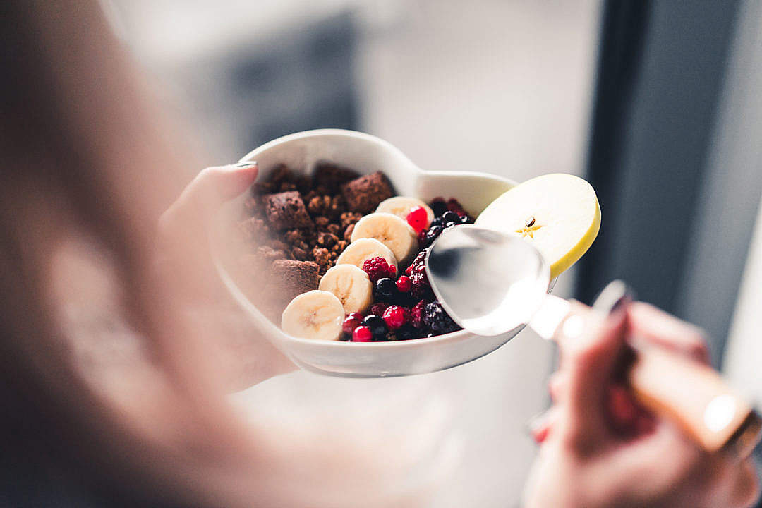Download Healthy Morning Breakfast FREE Stock Photo