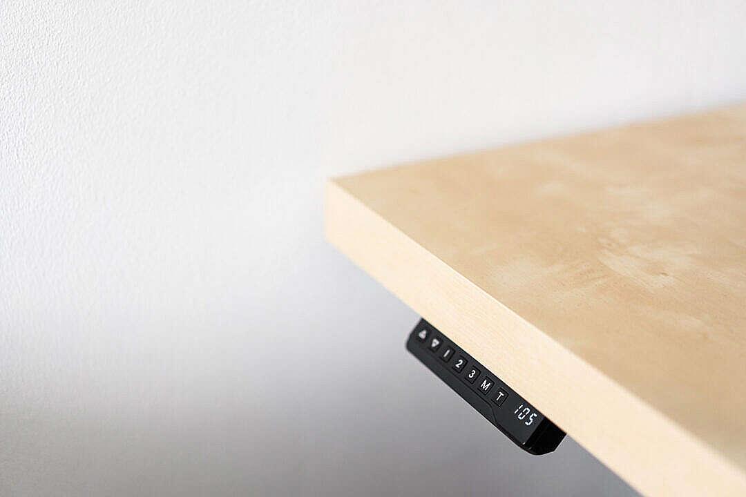 Download Height Adjustable Work Desk FREE Stock Photo
