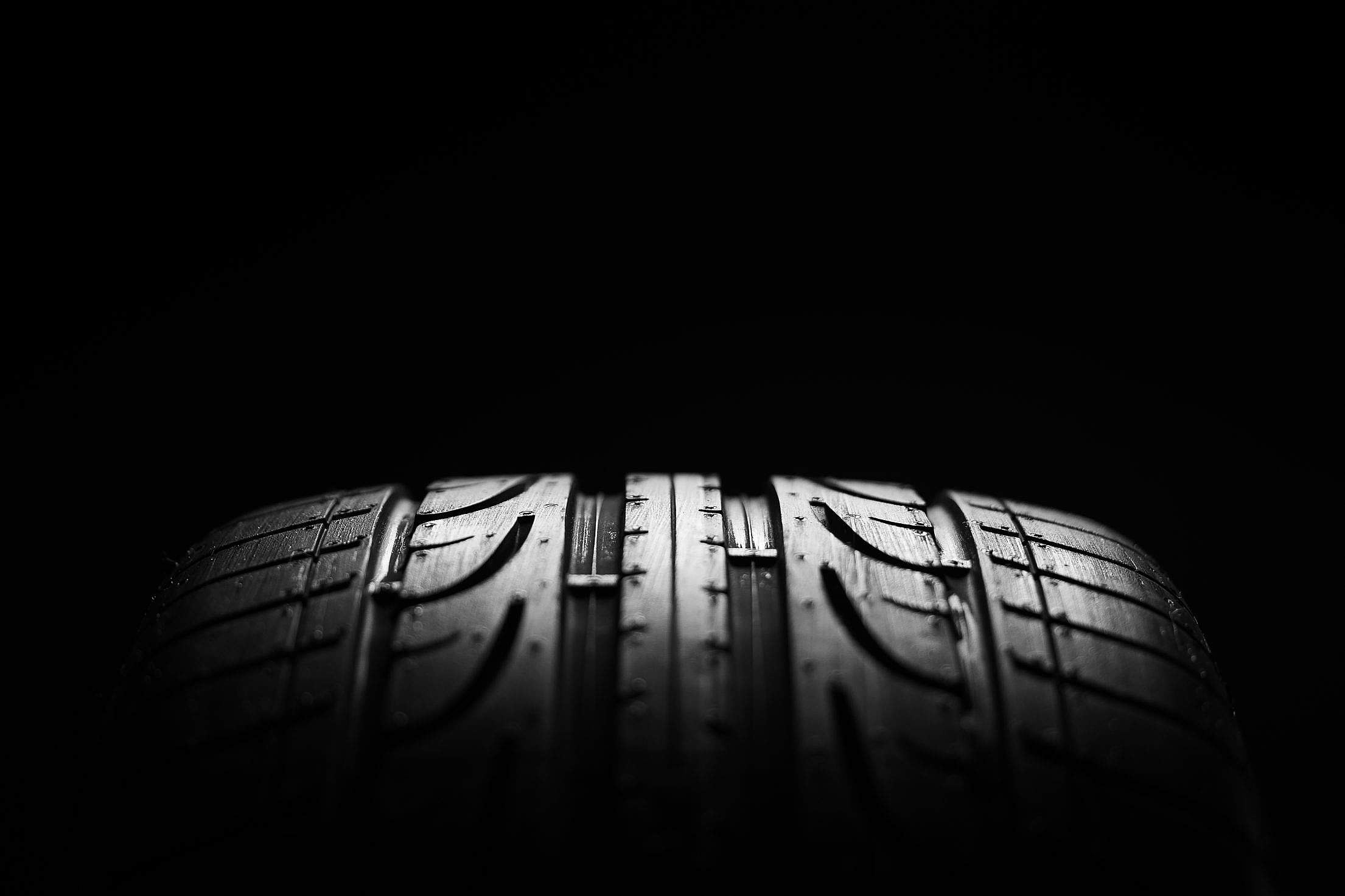 High-performance Sport Summer Car Tire Close-up Free Stock Photo