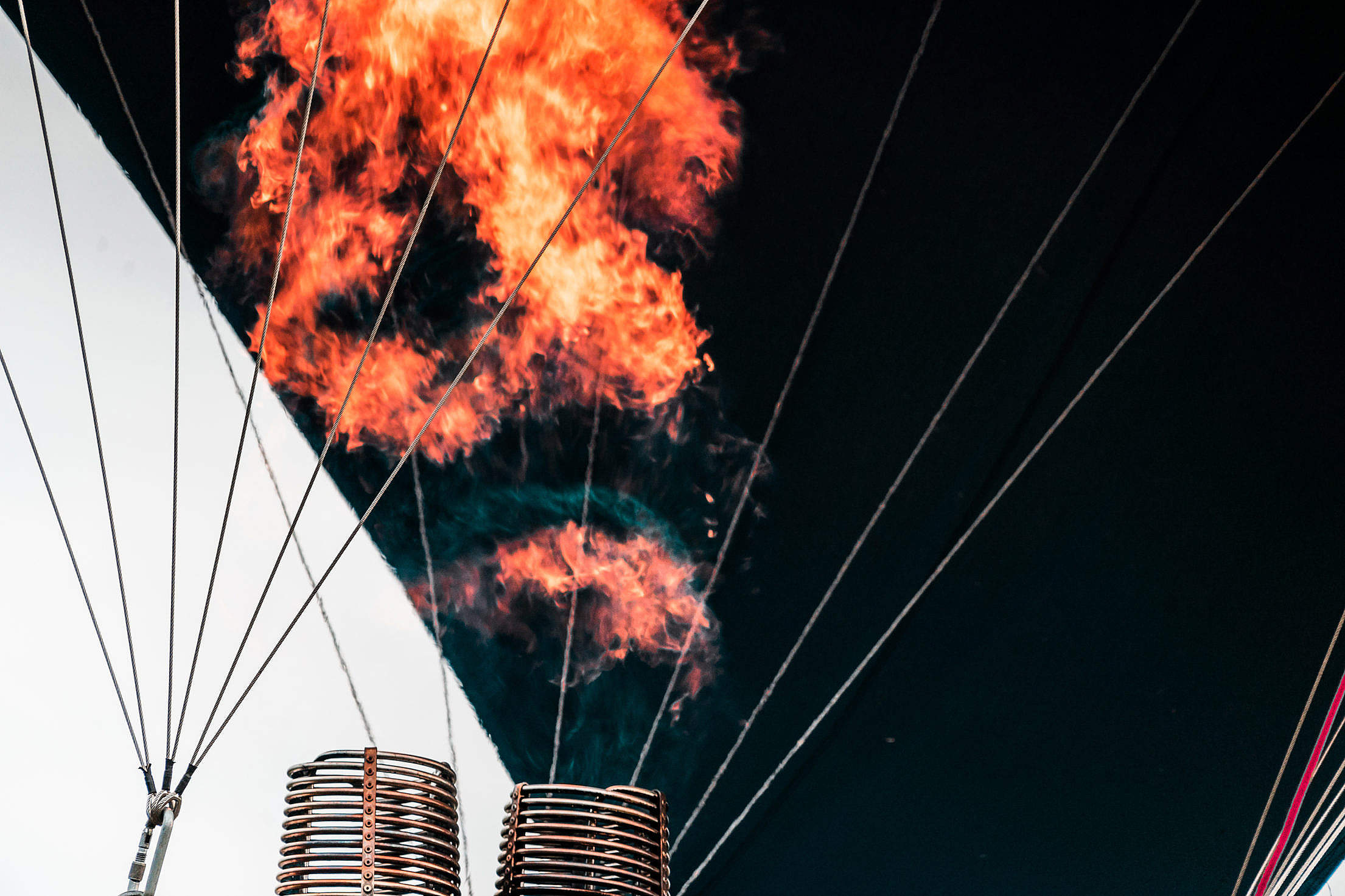 Hot Air Balloon Free Stock Photo