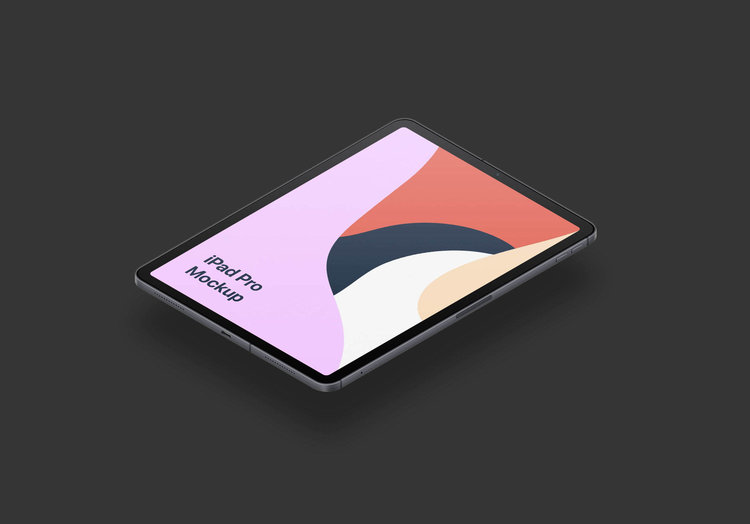 iPad Pro Free PSD Mock-Up stock photo collection