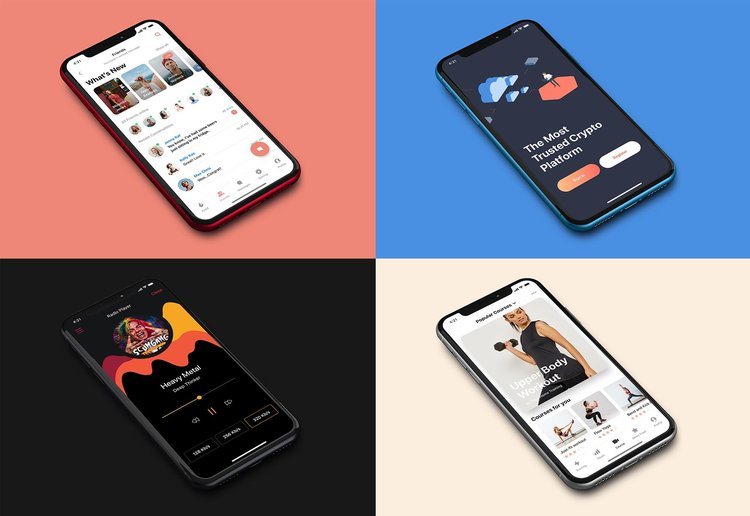 iPhone XR Free Realistic Mockup stock photo collection