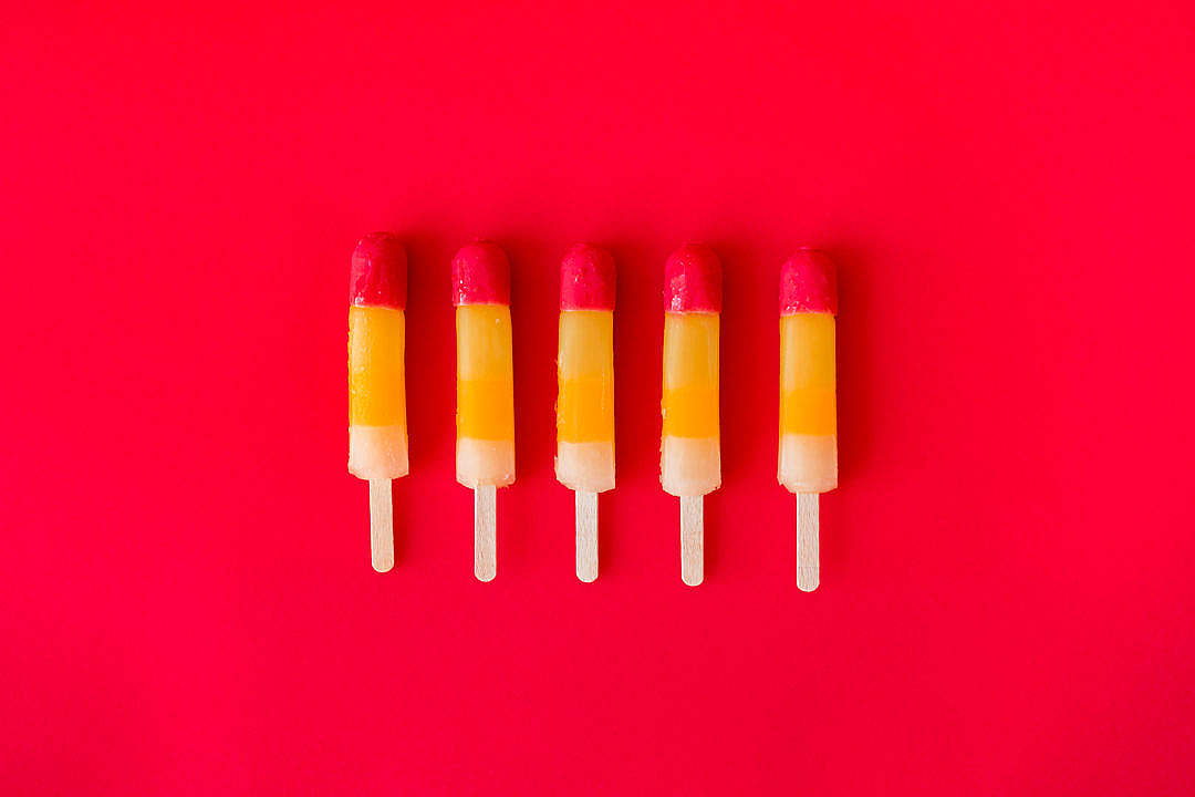 Download Ice Lollies FREE Stock Photo