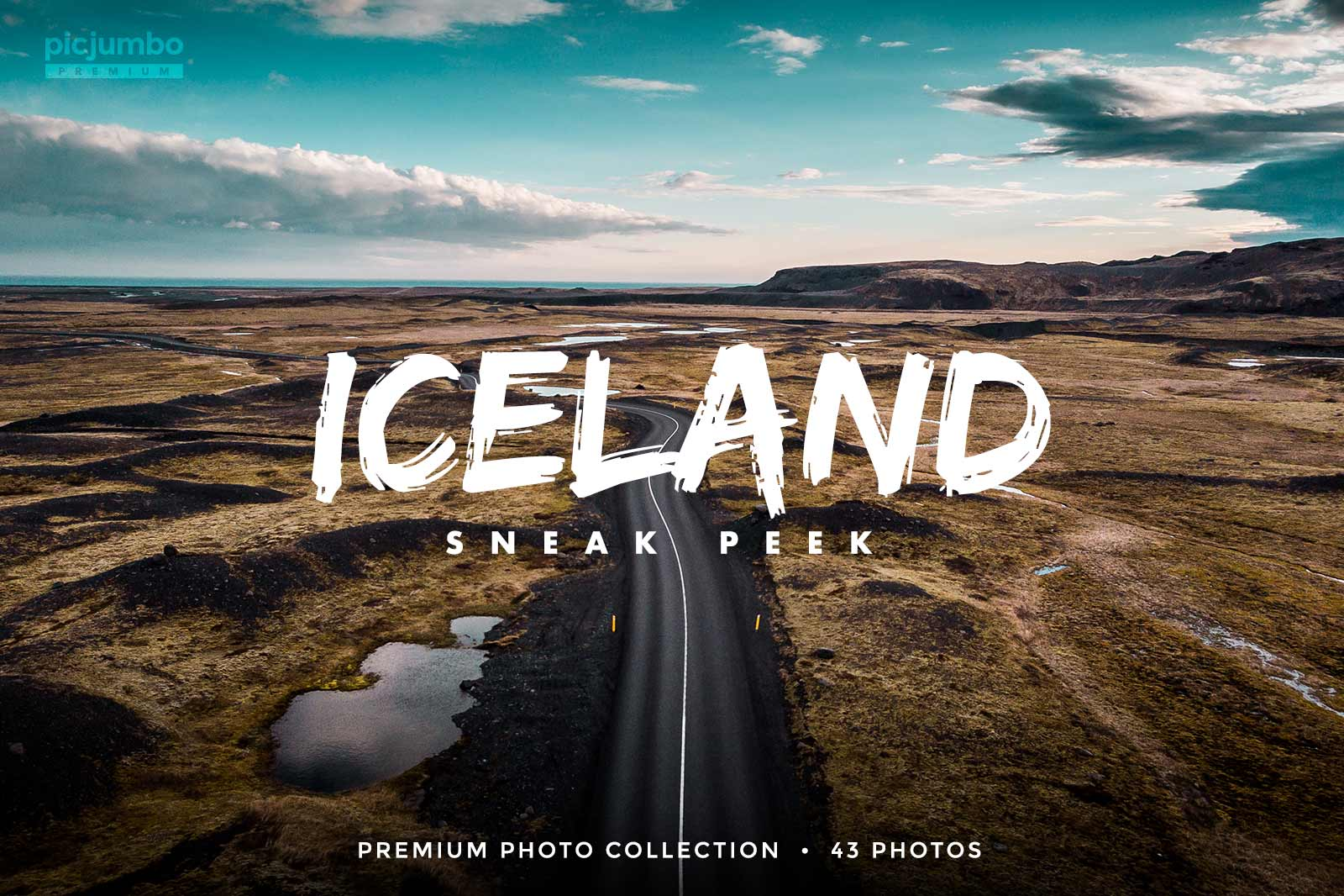 Iceland Sneak Peek stock photo collection