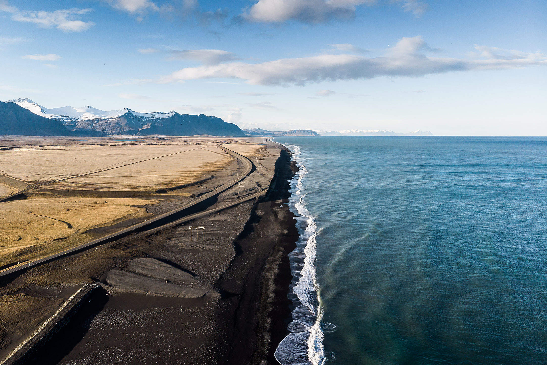Download Iceland Shoreline Landscape Free Stock Photo