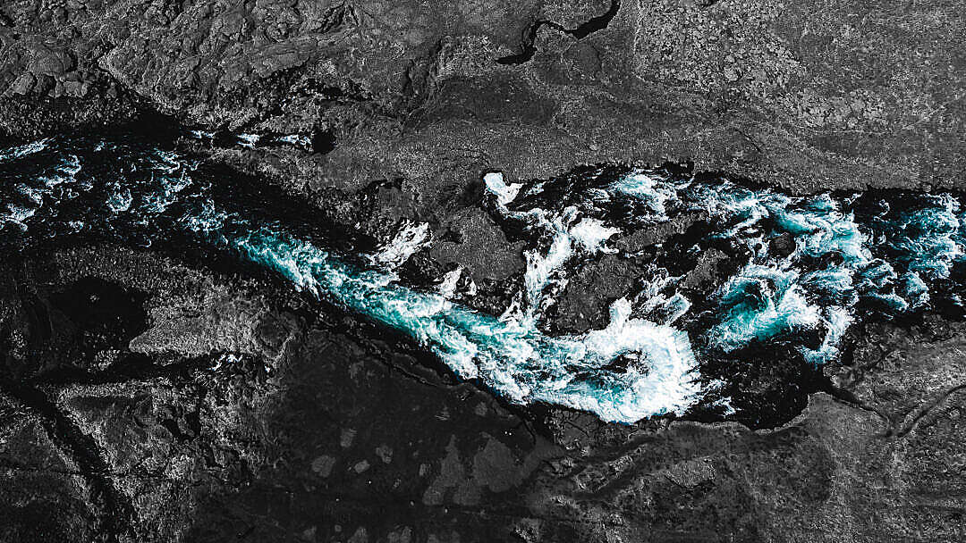 Download Iceland Waterfall Wallpaper FREE Stock Photo