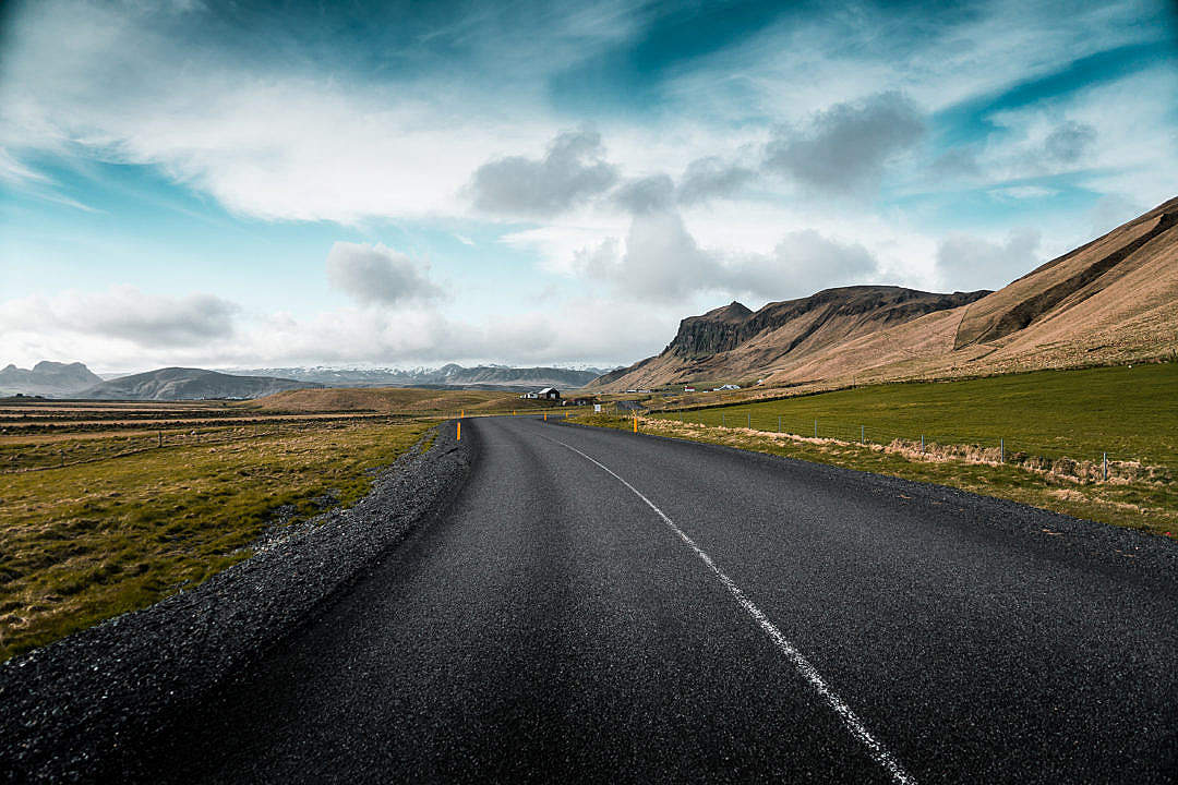Download Icelandic Roads FREE Stock Photo