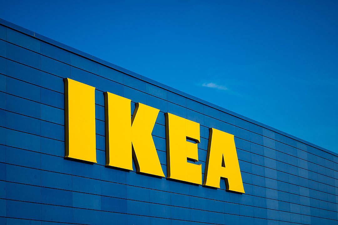 Download IKEA Logo FREE Stock Photo