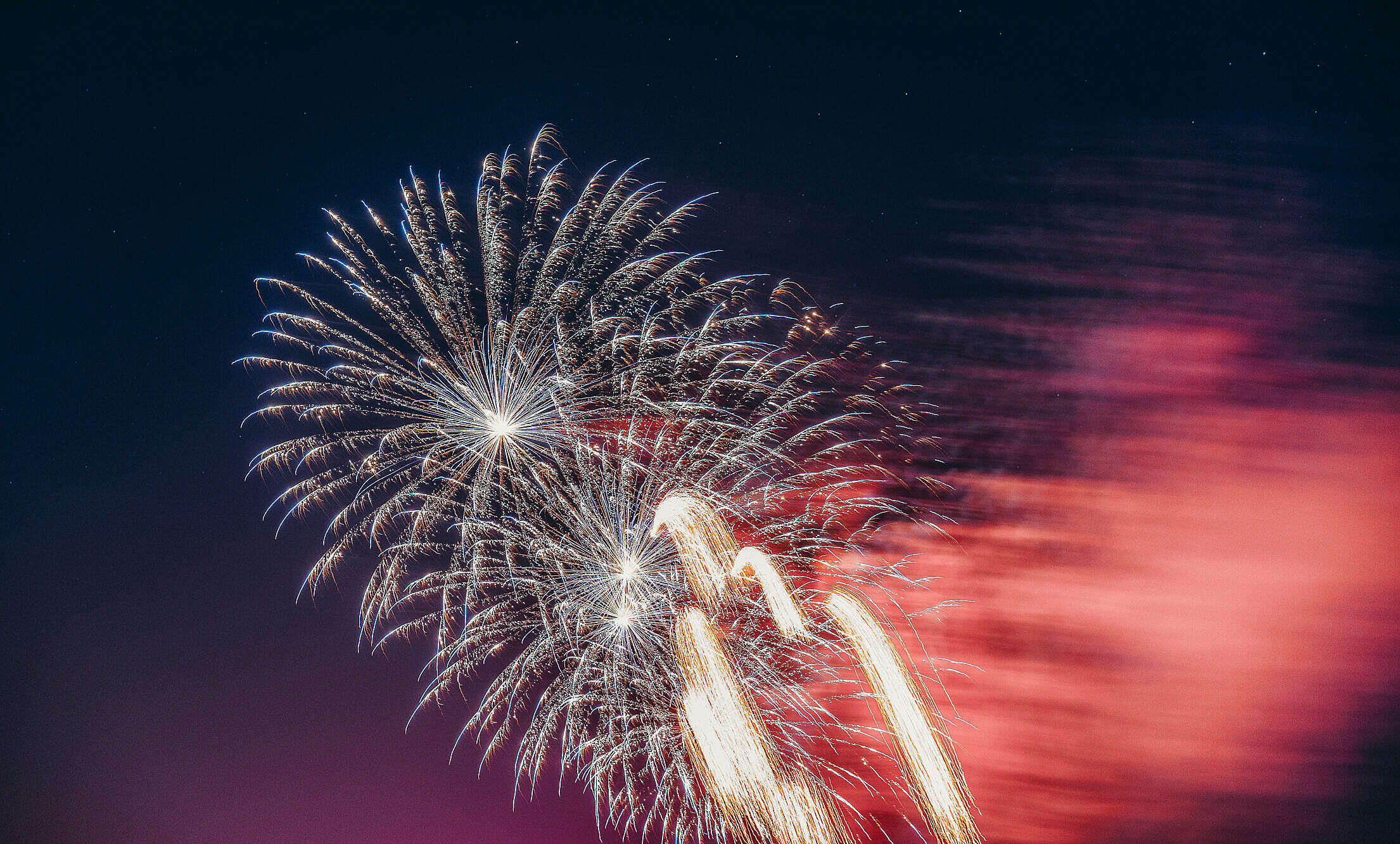 Independence Day 4th of July Fireworks Free Stock Photo