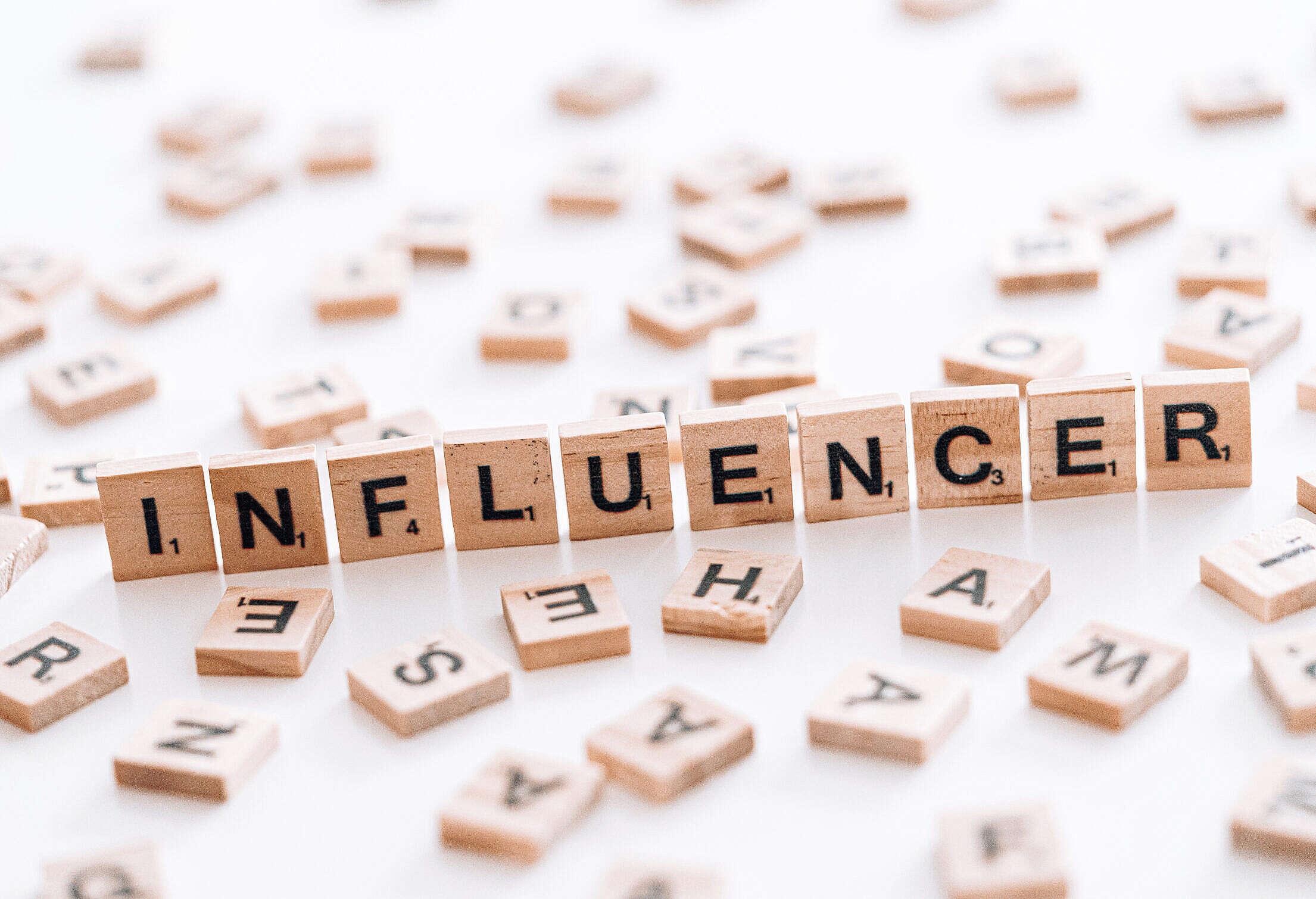 Influencer Marketing Free Stock Photo