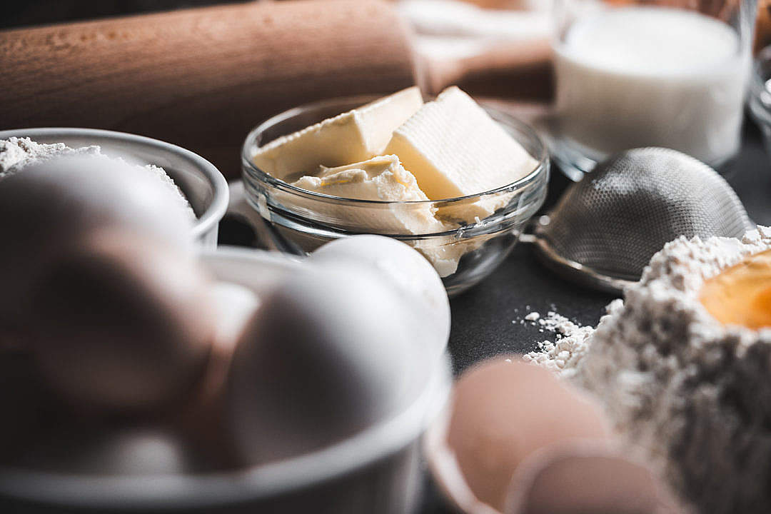 Download Ingredients for Baking FREE Stock Photo