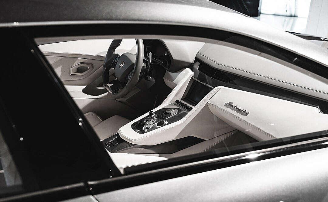 Download Interior of Lamborghini Estoque Luxury Car Concept FREE Stock Photo