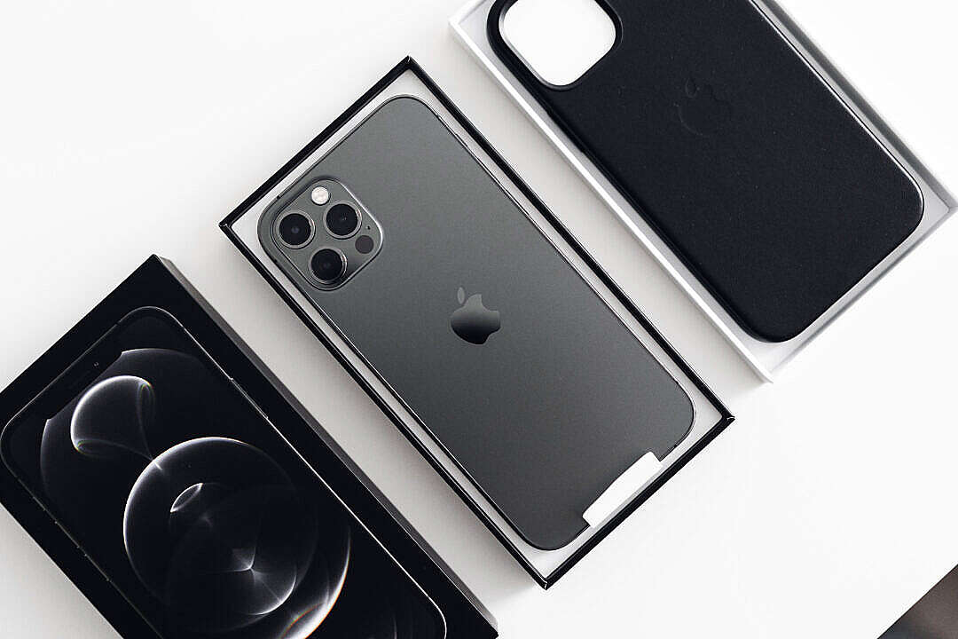 Download iPhone 12 Pro Unboxing FREE Stock Photo