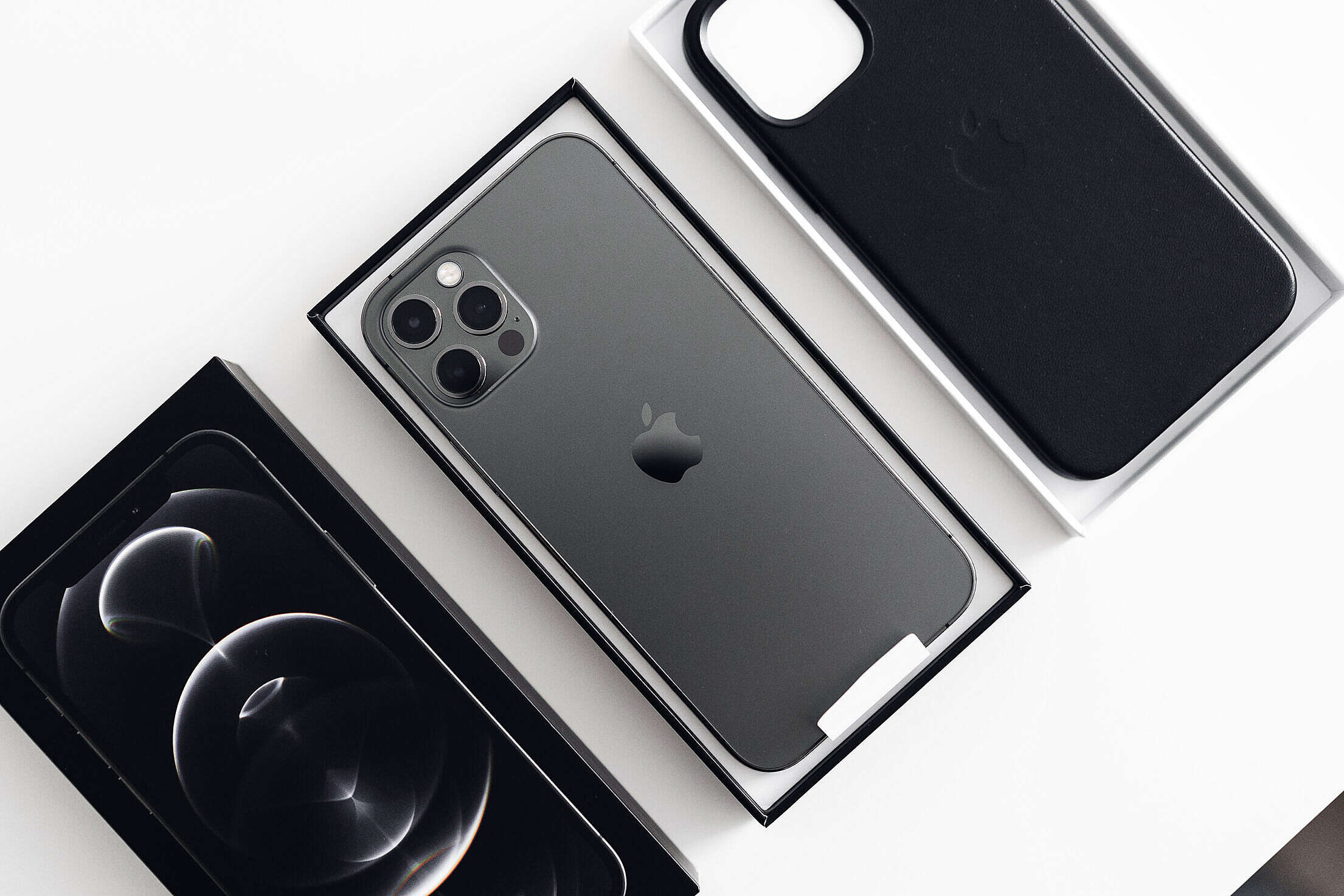 iPhone 12 Pro Unboxing Free Stock Photo