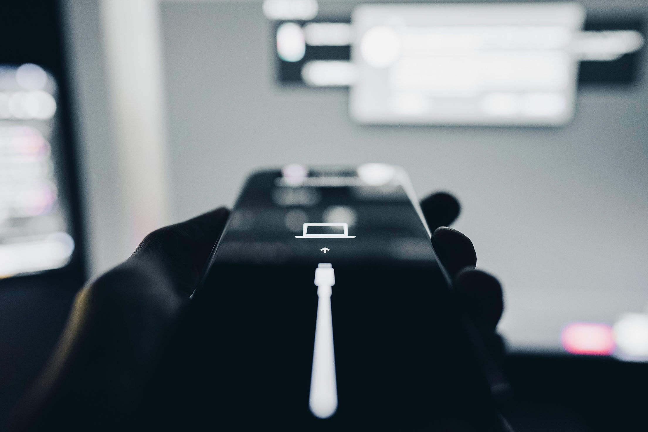 iPhone Stuck in Recovery Mode Free Stock Photo
