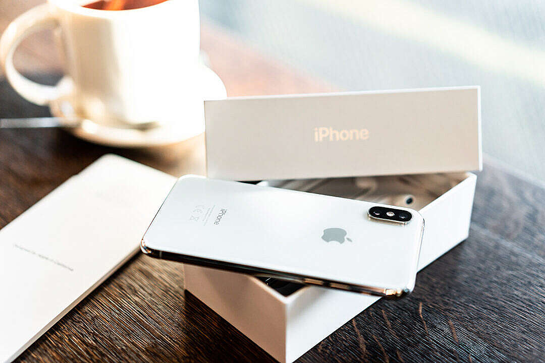 Download iPhone XS Unboxing FREE Stock Photo