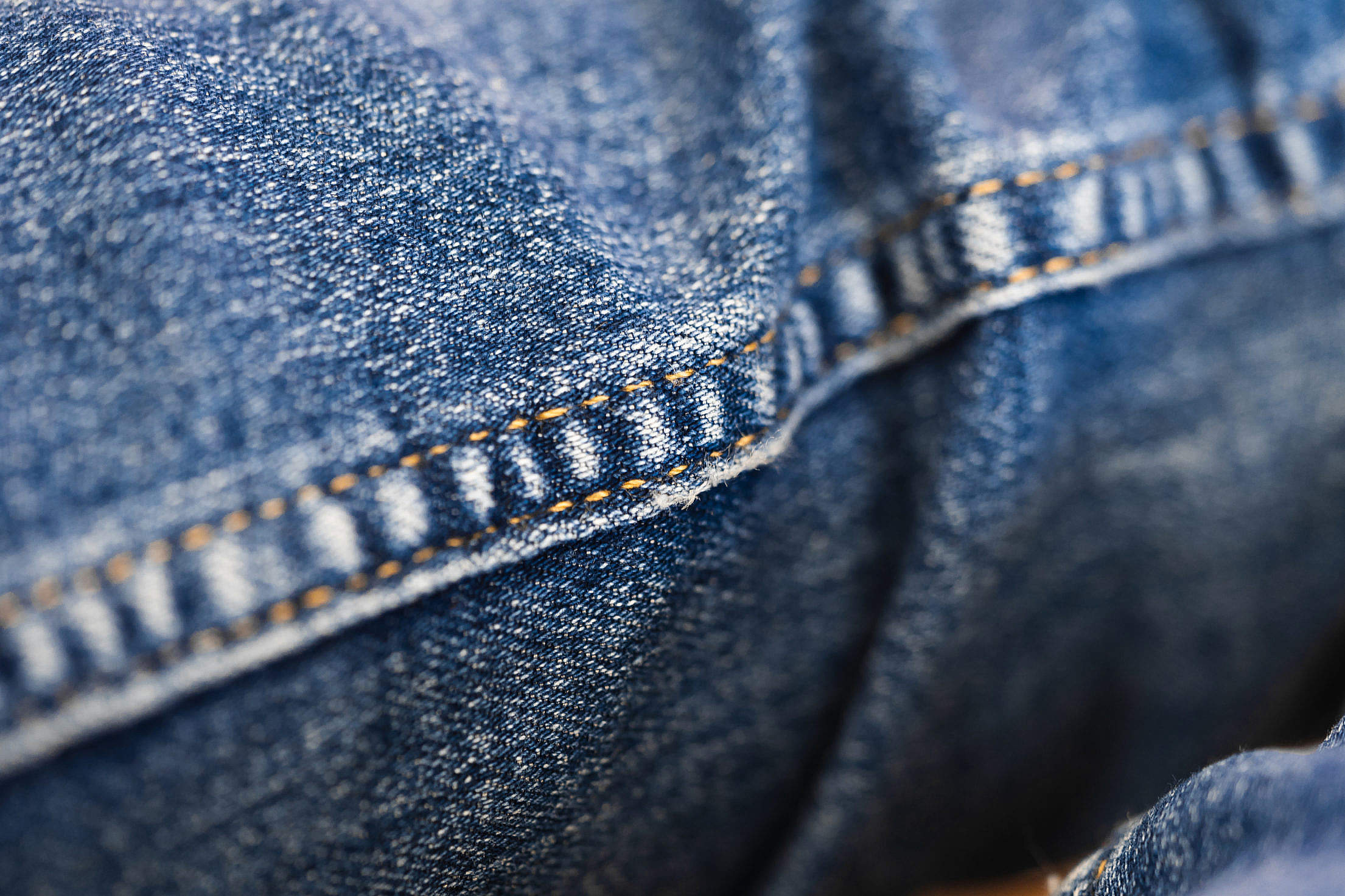 Jeans Pattern and Sewing Free Stock Photo
